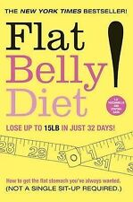 FLAT BELLY DIET By Liz Vaccariello New Book Paperback Free Shipping BB