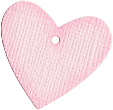 QuicKutz Lifestyle Crafts 2x2 Single HEART TAG  Love, Valentine's, Gift  RS-0449