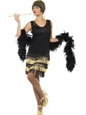 Women's Fancy Dress 1920S Twenties Flapper Ladies Available In Various Colours