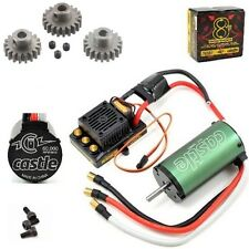 Castle Creations 1/8 Sidewinder 8th ESC 2200kV Motor + Novak Pinion 3 Pack