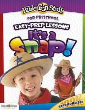 It's a Snap!: Fun Faith Builders (Easy-Prep Lessons)