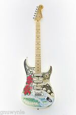 NEW Fender American Stratocaster Guitar handpainted by Wes Humpston