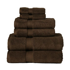 Superior 900GSM 6 PC SET CH 900GSM Egyptian Cotton 6-Piece Towel Set