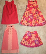 Gap Lot Of New & EUC Dresses & Skirt, Size 5 Girls', Coral & Floral Collection