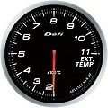 DEFI LINK METER ADVANCE BF EXHAUST TEMP GAUGE 60MM DF10601-WHITE
