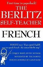 Berlitz Self-Teacher - French by Joyce L. Vedral and Berlitz Editors (1987,...