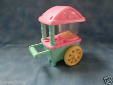 My little Pony Hasbro 2002 Popcorn Fun Ponyville Replacement Popcorn Cart 5""