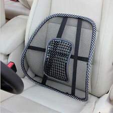 Steel Car/Seat/Chair Mesh Lower Back Lumbar Ventilabte Cushion Support Pad