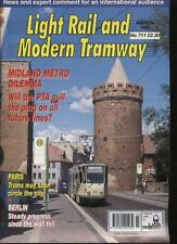 LIGHT RAIL AND MODERN TRAMWAY MAGAZINE - March 1996 - Vol. 60 - No. 711