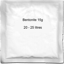Bentonite 15g (25L) sachet for Homebrew Beer Wine & Ciderage