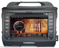 Pure Android wifi s150 headunit car dvd gps for Kia Sportage A8 CPU 1GHZ 1G ROM