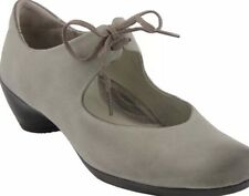 ECCO Sculptured Womens EU 39 US 8-8.5 Leather Mary Jane Shoes Warm Gray