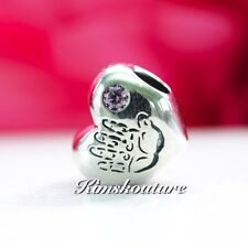 Authentic Pandora Charm Baby Girl 791280PCZ