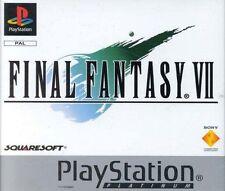 Final Fantasy VII -- Platinum (Sony PlayStation 1, 1997)