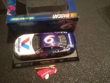 SCALEXTRIC SLOT CAR VALVOLINE NASCAR FORD TAURUS #6 MARK MARTIN 1/32 BOXED
