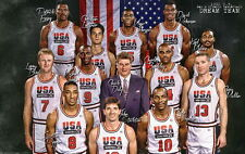 "The Olympic - 1992 USA Dream Team Micheal jordan Magic Johnson 22""x14"" Poster"