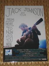 JACK JOHNSON  -  2013  AUSTRALIAN  TOUR -  PROMO TOUR POSTER
