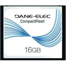 Dane-Elec 16GB Compact Flash Memory Card for Canon EOS 20D 30D 40D