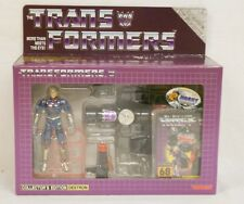 TRANSFORMERS E-HOBBY MAGNIFICUS BLACK PERCEPTOR G1 REISSUE SEALED BEAUTIFUL BOX