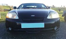 HYUNDAI COUPE S 2004 1.6 ENGINE O/S RIGHT BREAKING ALL PARTS N/S LEFT BLACK EB