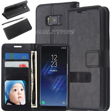 iPhone 6 6S Slim Genuine Leather Flip Wallet Stand Battery Case Cover Protector