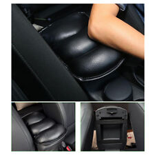 Auto Car Center Console Box Black PU Armrest Soft Cushion Pad Cover Mat Comfort