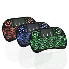 i8 Wireless Mini Keyboard Mouse Touchpad with Backlight For Smart TV BOX PC