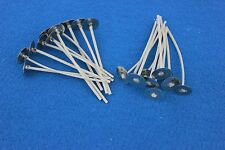 """Wood Wicks ~1000ct ~ Wicks #750  2 1/2"""" for votive candle making, jars"""