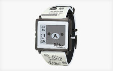 Rilakkuma factory San-X Epson EPD digital smart canvas watch monochrome bear