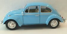 Kinsmart 1967 Volkswagen VW Classic Beetle Bug 1:24 Diecast Model car BLUE