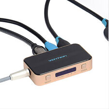 3 in 1 HDMI Switch Splitter Cable HD 1080P Switcher with Audio for XBOX PS3
