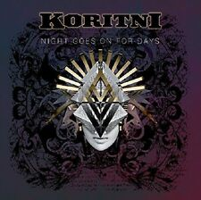 KORITNI - NIGHT GOES ON FOR DAYS  CD NEW+
