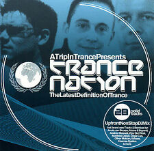 TRANCE NATION - THE LATEST DEFINITION OF TRANCE (2 CD SET) 2006 BRAND NEW ! RARE