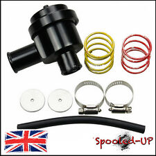 25MM UNIVERSAL TURBO BOV DIVERTER RECIRCULATING DUMP BLOW OFF VALVE - BLACK