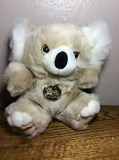 Vintage Platinum Plus Koala Bear Main Joy Limited 8'' Original Plush Toy Tan