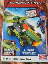 Spider-man Lizard Racer  Mega Bloks  91325   34 Pieces.  bnib.