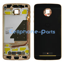 Motorola Sheridan Moto Z Force Droid Edition XT1650 Mid Back Housing Rose Gold