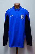*BNWT* CHORNOMORETS UKRAINE PLAYER ISSUE FOOTBALL JERSEY TRAINING TOP NIKE