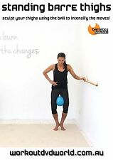 Barre Toning EXERCISE DVD - Barlates Body Blitz STANDING BARRE THIGHS