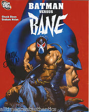 COMIC BOOK ARTIST ~ BANE CREATOR CHUCK DIXON SIGNED 8X10 PHOTO B w/COA BATMAN