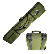 NEW Snowboard Wheelie Padded Travel Bag 170cm Khaki HIGH Quality Snowboard bag