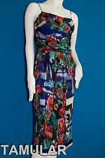 Alberta Ferretti Dress Italy Flower Perfect Condition