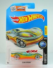 Hot Wheels 2016 #13 Clear Speeder TRANSPARENT BLUE,2ndCOLOR,CLEAR BLUE TIRE,INTL