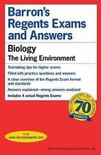 Barron's Regents Exams and Answers: Biology : The Living Environment by...