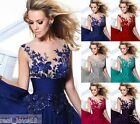 Formal Long Ball Gown Party Prom Bridesmaid Evening Dress Size 6-8-10-12-14--18+