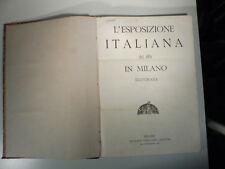 L'esposizione italiana del 1881 in Milano illustrata