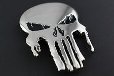 THE PUNISHER SKULL MIRROR BELT BUCKLE  MARVEL COMIC BOOK MOVIE