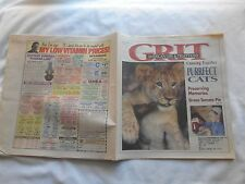 GRIT Magazine-APRIL 20,1997-PURRFECT CATS-PRESERVING MEMORIES