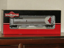 HO Scale Model by InterMountain 4-Bay Cylindrical Hopper