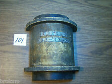 """Unusual Interesting Wood Foundry Industrial Pattern Mold 9"""" X 7-3/4"""" (#101)"""
